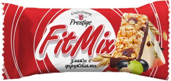 """Цукерки """"Fit Mix"""" злаки з фруктами та арахісом фото 1"""