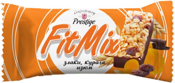"Candies ""FitMix"" cereals, dried apricots, raisins фото 1"