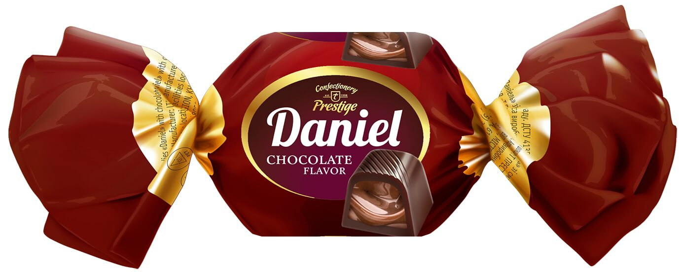 "Chocolate candies ""Daniel"" with chocolate flavor фото 1"