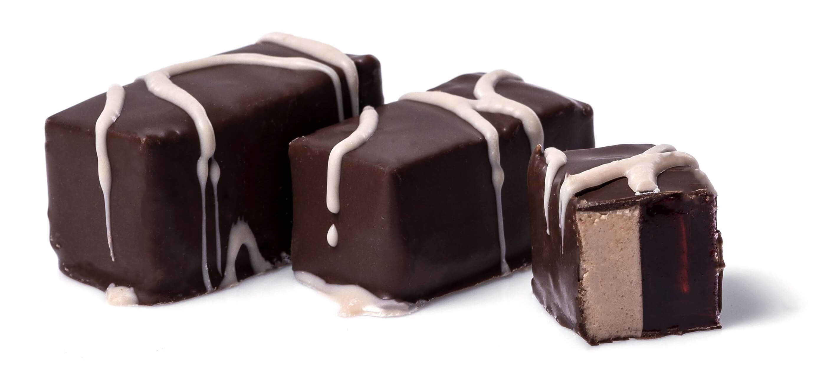 Цукерки «Десерт» Шоколадне суфле з вишневим мармеладом» фото 2