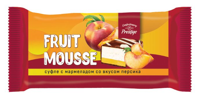 "Candies ""Fruit mousse"" souffle assorti with peach and cherry flavored marmalade фото 2"