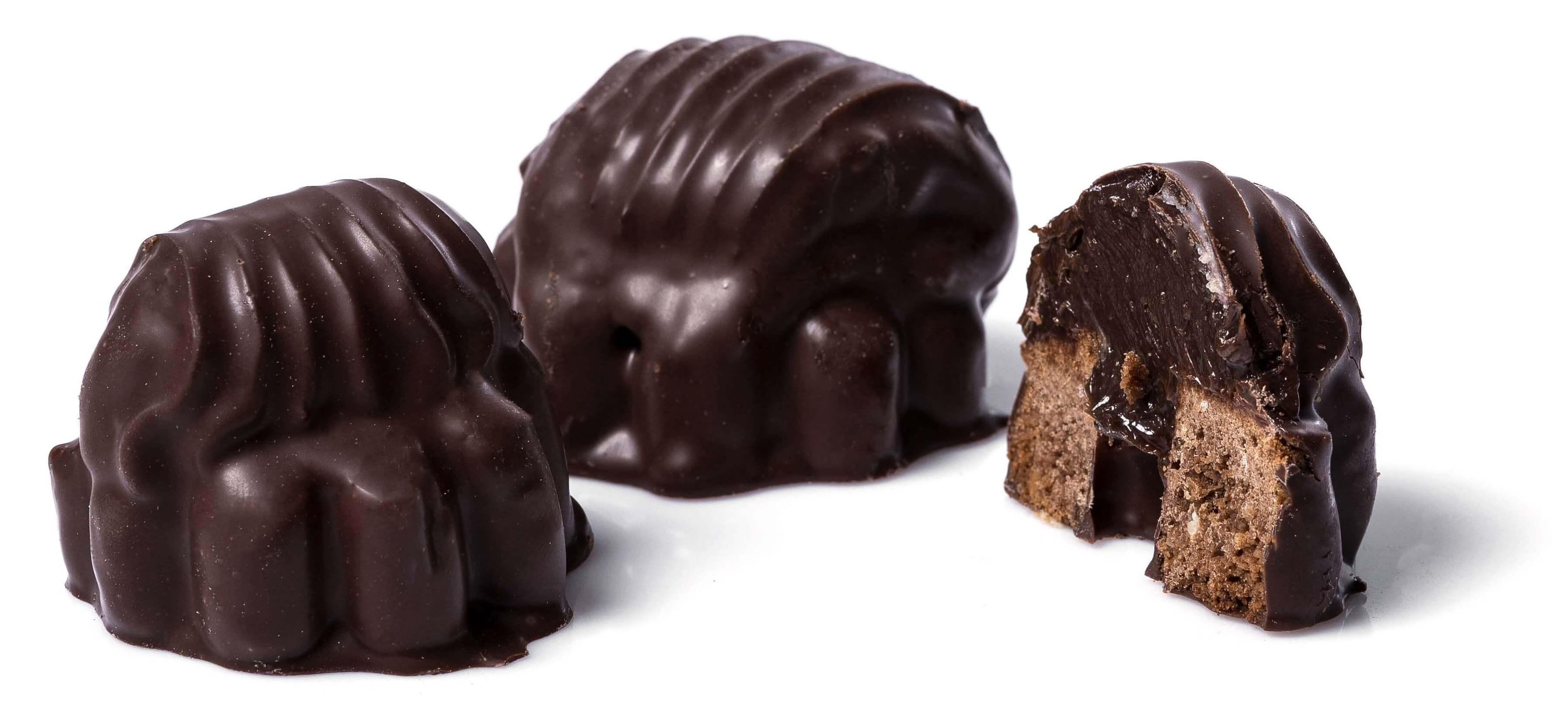 Печенье сдобное «Ракушки» с наполнителем с шоколадным ароматом фото 1