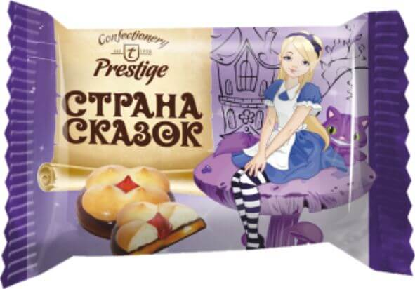 """Печенье сдобное с мармеладным корпусом """"Страна сказок"""" фото 3"""