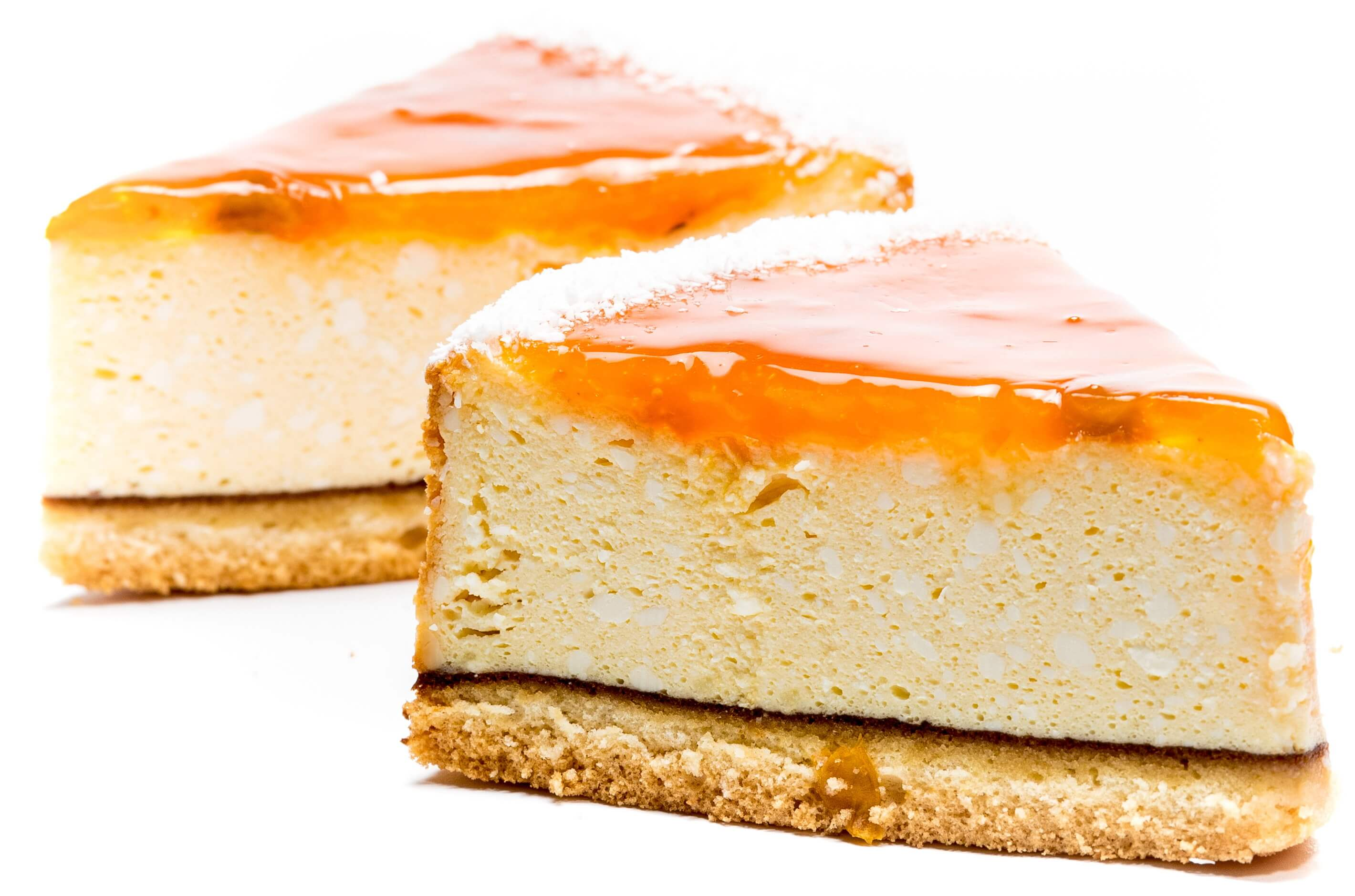 "Biscuit-curd cake ""Cheesecake with peach slices"" фото 2"