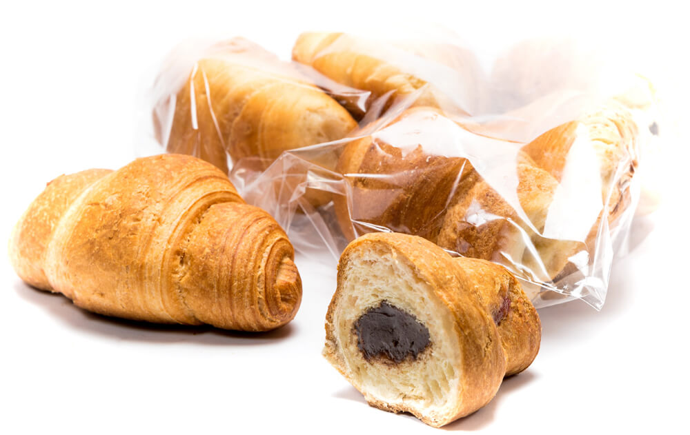 "Mini croissant with milk-containing ""toffee"" filling фото 1"