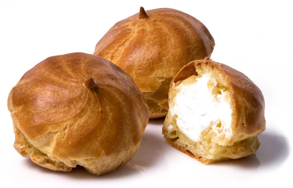 Пирожное заварное «Эклеры» со сливками» фото 1