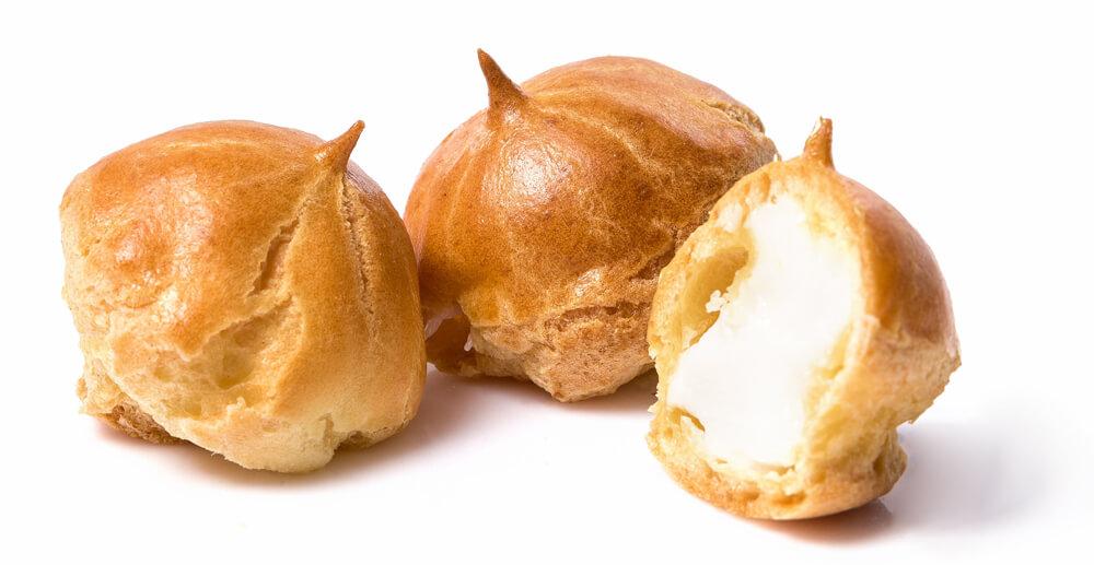 "Custard cake ""Eclairs-mini"" with filling ""ice cream"" фото 1"