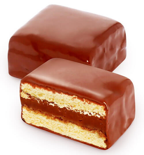 """Cookie """"Biscuit with """"Toffee"""" flavored filling"""" (flowpack) фото 2"""