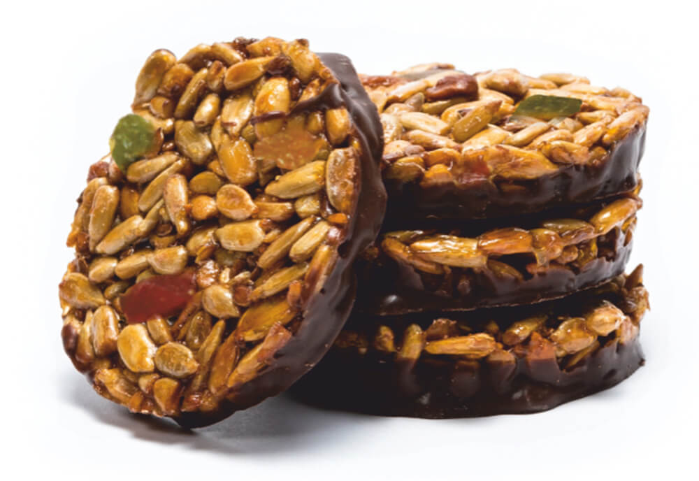 """Krokant """"Taler"""" with dried fruits and compound cover фото 1"""