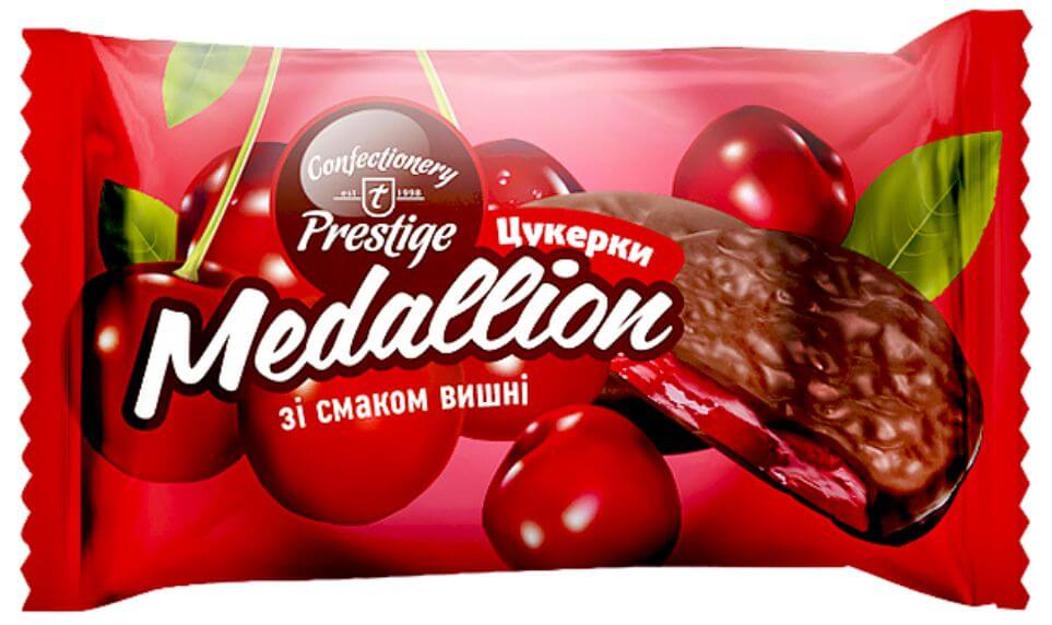 "Candies ""Medallion"" with cherry flavor фото 1"