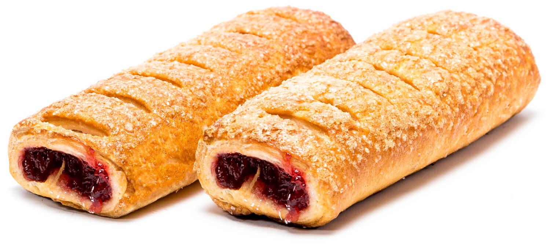 Печенье слоёное «Вишнёвое наслаждение» фото 1