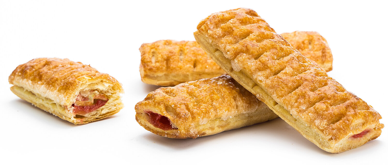 """Puff cookie """"Bum-Hrum"""" with strawberry flavored filling фото 2"""