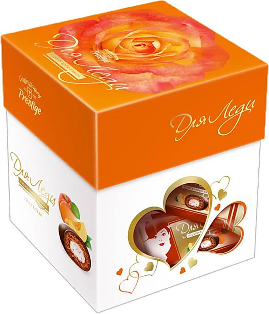 "Candies ""For Lady"" dried apricot cream-vanilla фото 1"