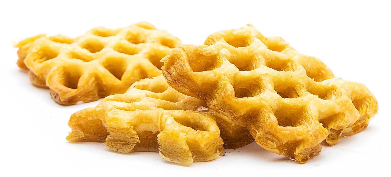 Печенье сдобное слоёное «Медовые узоры» фото 1